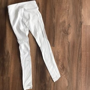 New Alo white mesh yoga leggings!